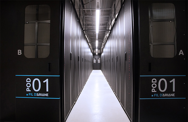Baies Data center Fil d'Ariane
